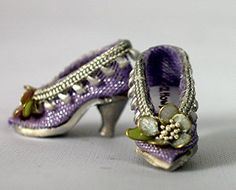 Miniature Lavender Pumps