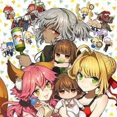 Routou Usagi's Fate/IX Tella, based on TYPE-MOON and Marvelous' original work, and Shikabane Sensei 'Sobo no Kami wo Kitta Hi' have both started their serialization online at Web manga site Young Ace Up.