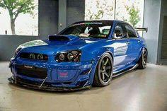 Subaru Impreza WRX STI Race Look