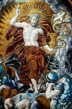 Leonard Limousin: Resurreción. Musée du Louvre, 1553.