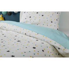 Parure de lit enfant 140 x 200 cm en coton GRAPHIKIDS