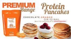 - Breakfast Just Got Better Protein Pancakes, Chocolate Orange, Raspberry, Wellness, Breakfast, Food, Products, Morning Coffee, Essen