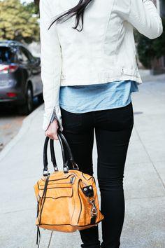 @River Island jacket, @Gap shirt, @Jeffrey Campbell shoes, @Rebecca Minkoff bag   http://thefancypantsreport.com