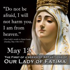 virgin mary apparations  | Today is the anniversary of the Blessed Virgin Mary's first apparition ...