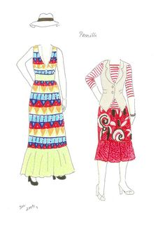 Påklædningsdukker tegnet af Inger Møller. Paper Dolls by Inger Møller - Yakira Chandrani - Picasa Web Albums