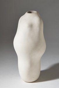 Vessel/sculpture by Dagmar Norell, Sweden. 1970's.