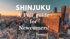 😍Hello Tokyo lovers😍,  🌟🌈We are glad to showcase our newly done Shinjuku guide for the people wanting to discover tips🧐, enjoy landscapes💐 and unfold the most convenient places to go to live a practical and entertaining life!🌟🌈  👍Check it out now on the Tokyoroomfinder YouTube channel  Click the link to see our properties in Shinjuku! Shinjuku Tokyo, East Side, Check It Out, Skyscraper, Places To Go, Landscapes, Channel, Lovers, Paisajes