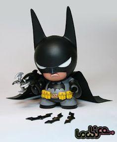 Sweet Batman - Custom toys by Stuart Witter