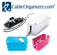 Cable Management--great stuff to get all your must have devices in order!