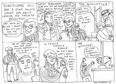 Kate Beaton: Hark a Vagrant #52 - Robespierre.