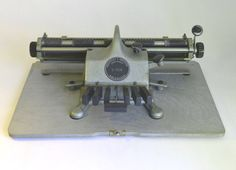 RARE Braille Typewriter  Early 1950's  Great by WorkingTypewriters