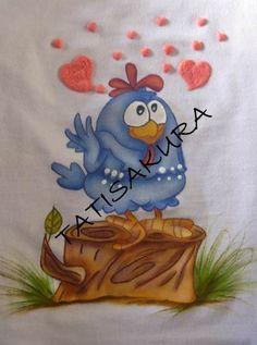 Meu trabalho galinha pintadinha