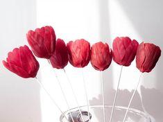 Всем доброго времени суток! Перед вами третья часть из серии «Цветы из холодного фарфора», в котором я расскажу, как делаю тюльпаны с фиксированными лепестками. Что значит «фиксированные лепестки»? Это значит, что лепестки таких тюльпанов нельзя отогнуть или собрать в бутон. Многие могут сказать, что тюльпаны с двигающимися лепестками делать не сложнее, но я с этим не согласна.