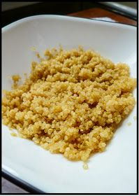 The Healthy Maiden: Simple Quinoa Recipe