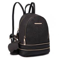 Miss Lulu Women Casual Cute Saffiano PU Leather Waterproof Backpack School bags UK Little Backpacks, Girl Backpacks, Satchel Backpack, Mini Backpack, Travel Backpack, School Bags For Sale, Leather School Bag, Leather Fashion, Pu Leather