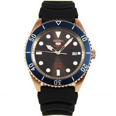 Seiko Men's Seiko 5 Sports Automatic Rubber Strap Gents Watch for sale online Seiko 5 Sports Automatic, Automatic Watches For Men, Gents Watches, Seiko Watches, Sport Watches, Male Watches, Gifts For Your Boyfriend, Gifts For Wife, Armband