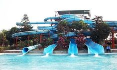 Water parks in Delhi and NCR are the best source of entertainment with your friends and family. Delhi's water parks are renowned for their entertainment features. Delhi India, Delhi Ncr, Water Parks, Beat The Heat, Marina Bay Sands, Attraction, Entertainment, Building, Places