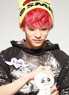 if i could meet l.joe i would react just like that plushy there!