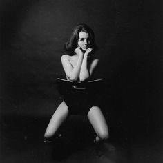 Christine Keeler London by Lewis Morley (1963) ✨  Start your day with these incredible photos from London in the swinging 60s on papermag.com #LinkInBio