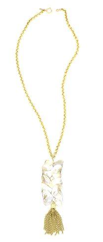 Shell-inspired Jewelry: Sylvia Benson Marty Tassel Necklace | CoastalLiving.com