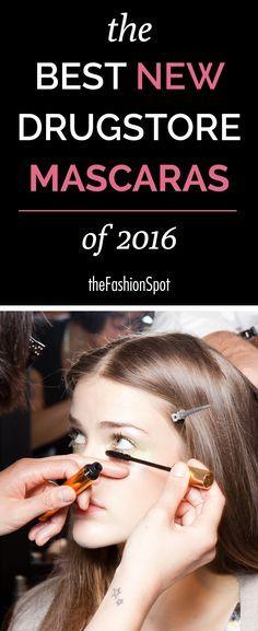 The best new drugstore mascaras of 2016