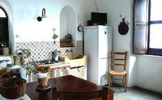 Ferienhaus: Casa del Toro in Tovere di Amalfi - Die Küche des Casa del Toro. www.amalfi-ferien.de