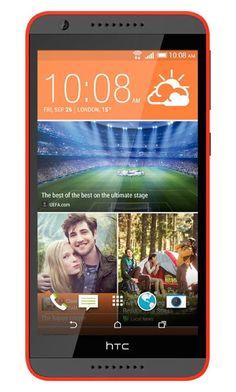Телефон HTC Desire 820 (Серо-Оранжевый)