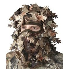 Leafy headnet. I really want to buy this thing for someone this year. Hunter Specialties Realtree APG Leafy Headnet