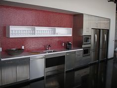 Stainless Steel Kitchen Cabinets, Cabinet Doors And Countertops