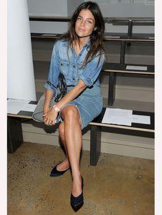 #JuliaRestoinRoitfeld #jeans #denim