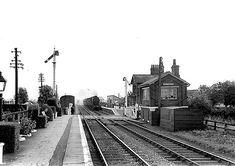 Disused Stations: Fangfoss Station Old Train Station, Train Stations, Disused Stations, East Yorkshire, British Rail, Steam Locomotive, Feature Film, Railroad Tracks, Abandoned