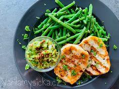 Vyzkoušené zdravé recepty Halloumi, Tasty Dishes, Green Beans, Dip, Benefit, Baking, Vegetables, Sweet, Food