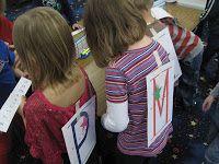 Kindergarten Faith: Does My Letter Say. Would work great with headbandz game bands. Phonemic Awareness Kindergarten, Kindergarten Reading Activities, Kindergarten Language Arts, Preschool Literacy, Early Literacy, Teaching Reading, Teaching Ideas, Alphabet Activities, Reading Skills