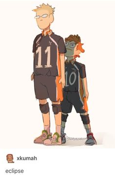 Perfection! Tsukishima and Hinata, Haikyuu!