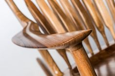 Sam Maloof rocking chair replica European Walnut