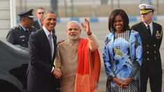 Michelle Obama Has India Buzzing About Her Outfit - Yahoo