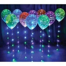 Lighted Sparkle Ribbons - a new way to make your parties sparkle and shine!