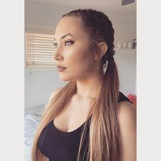Gold goddess make up and braid look. #gold #goddess #makeup #make up #make up tutorial #make up ideas #makeupideas #makeup ideas #contour #contouring #braids #dutch braids #kardashians #kardashian braids #long hair #long hair styles #mecca #mecca maxima #blue eyes #blue #golden #tan #urban decay #too faced #smash box #stila
