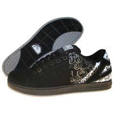 Lakai - Primo Black Nubuck Print Shoes d4427d76ef9c