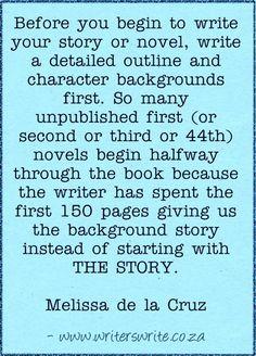Quotable - Melissa de la Cruz - Writers Write Creative Blog