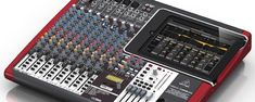 Behringer iX mixers: Each model will include a USB audio interface, XENYX mic pre-amps, 3-ban channel EQ, one-knob compression on every mono channel and 32 custo...