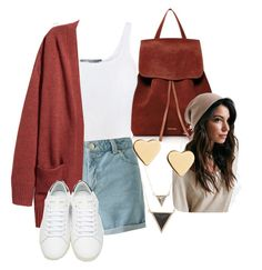 """""""Untitled #109"""" by i-love-modas on Polyvore featuring Mansur Gavriel, Vince, Miss Selfridge, Yves Saint Laurent, House of Harlow 1960 and Lipsy"""