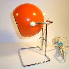 E. S. HORN lamp. #trendyenser #lamps #lampe #eshorn #danishdesign #danskdesign #retro #vintage From www.TRENDYenser.com. SOLGT/SOLD.