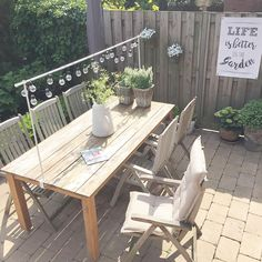 Outdoor Patio Furniture for Your Family Space – My Best Rock Landscaping Ideas Small Patio Ideas On A Budget, Budget Patio, Outdoor Rooms, Outdoor Dining, Outdoor Decor, Garden Furniture, Outdoor Furniture Sets, Landscaping With Rocks, Decoration Table