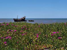 El Barco Encallado | Ship Run Aground, Bahía de los Vientos, Quequén, Argentina