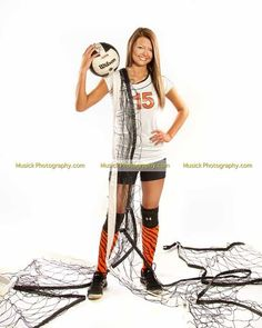 Katie's sophomore year volleyball picture from Musick photography #volleyball picture