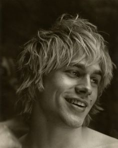 A young Charlie Hunnam