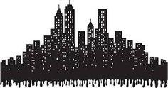"""Résultat de recherche d'images pour """"silhouette building new york"""""""