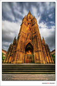 Buen Pastor Cathedral, San Sebastian (Spain) (must visit Restaurante Arzak as well) Cathedral Basilica, Cathedral Church, Oh The Places You'll Go, Places To Travel, Places To Visit, San Sebastian Spain, Basque Country, Spain And Portugal, Chapelle