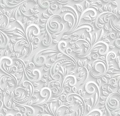 Illustration of Floral Seamless Background vector art, clipart and stock vectors. Seamless Background, Paper Background, Background Patterns, Wallpaper Patterns, Background Ideas, Decoupage, En Stock, Wedding Frames, Graphic Patterns
